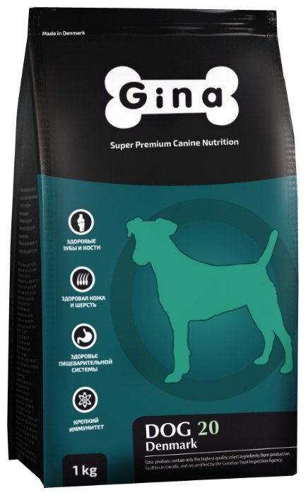 Корм для собак Gina Dog 20 Senior (18 кг)