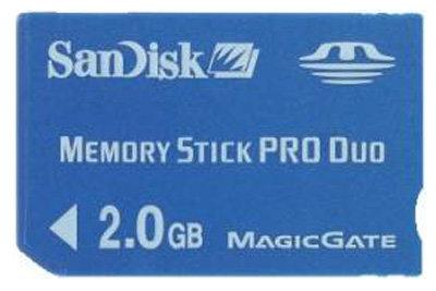 SanDisk Memory Stick PRO Duo 2Gb
