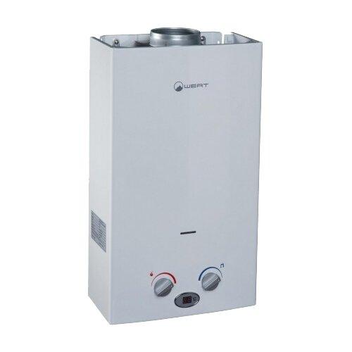 Проточный газовый водонагреватель Wert 10LC, white
