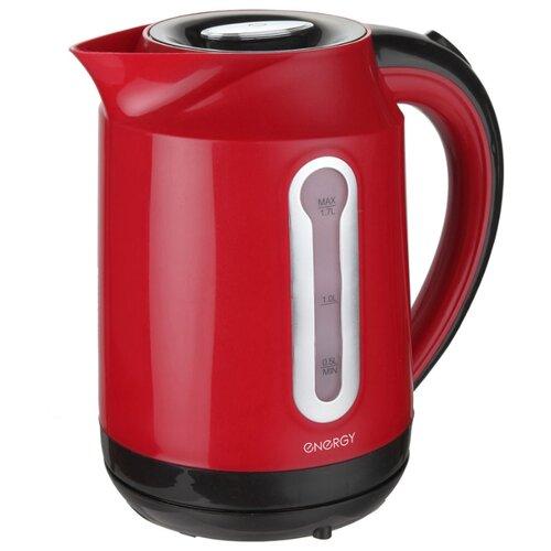 Фото - Чайник Energy E-210 (2016), red чайник energy e 296 красный