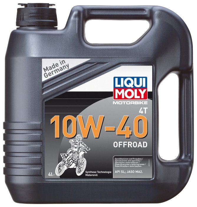 Моторное масло LIQUI MOLY Motorbike 4T Offroad 10W-40 4 л