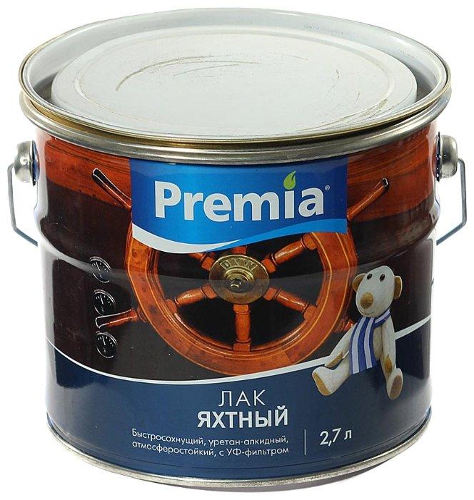 Лак Ярославские краски Premia Яхтный матовый (2.7 л)