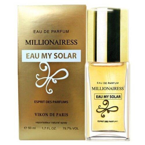 Парфюмерная вода Vikon de Paris Millionairess Eau My Solar, 50 мл