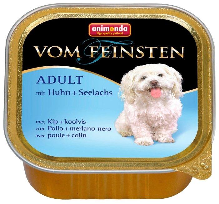 Корм для собак Animonda Vom Feinsten курица, сайда 150г