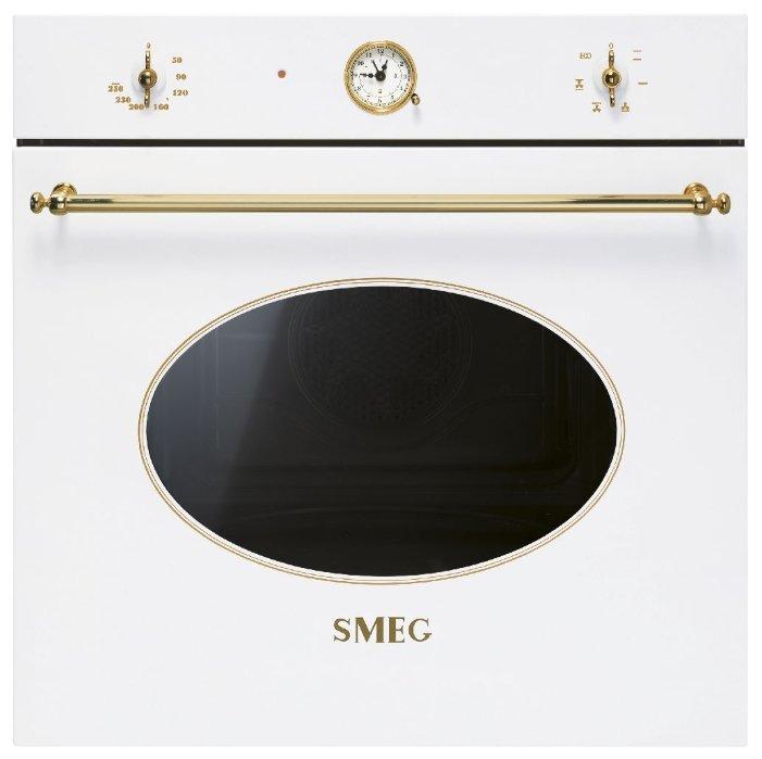 Электрический духовой шкаф SF800B, белый, Smeg