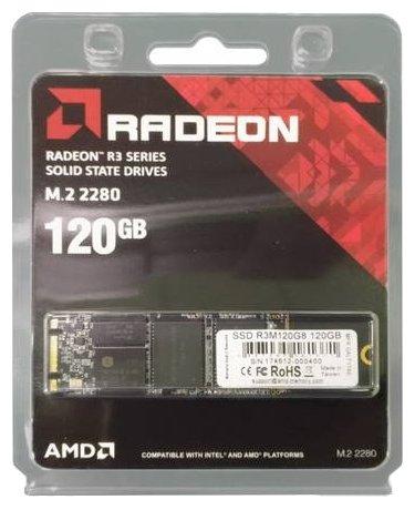 Твердотельный накопитель AMD Radeon R3 M.2 120GB