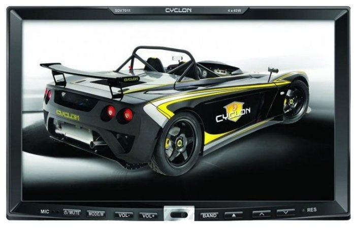 Автомагнитола CYCLON SDV-7011 GPS 3D