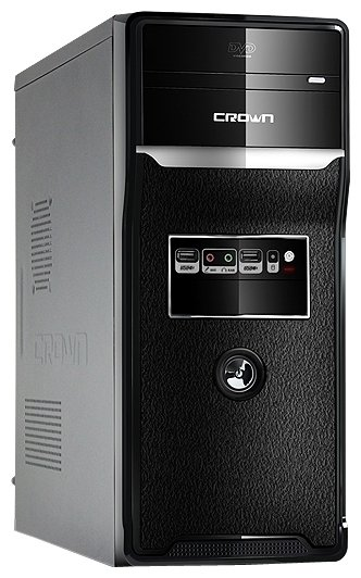 CROWN Компьютерный корпус CROWN CMC-SM157 450W Black
