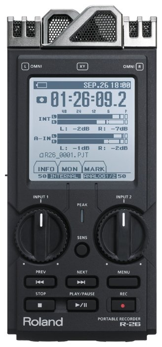 Roland Портативный рекордер Roland R-26