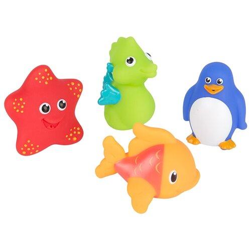 Купить Набор для ванной Munchkin Морские животные (11103) разноцветный, Игрушки для ванной