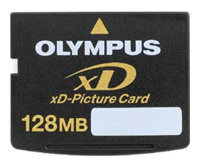 Карта памяти Olympus xD-Picture Card M-XD128P
