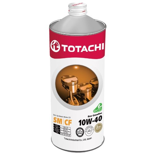 Моторное масло TOTACHI Eco Gasoline 10W-40 1 л