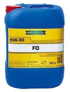 Моторное масло Ravenol FO SAE 5W-30 10 л