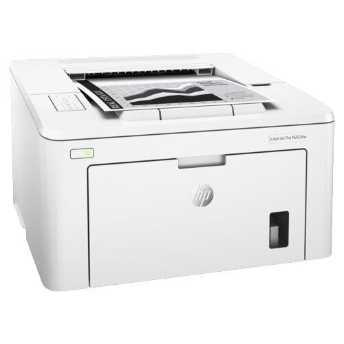 Фото - Принтер HP LaserJet Pro M203dw белый принтер hp laserjet pro m203dw g3q47a