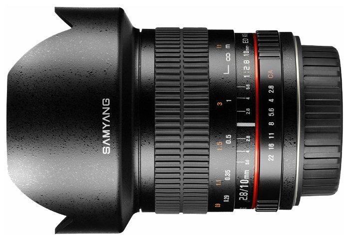 Samyang Объектив Samyang 10mm f/2.8 ED AS NCS CS AE Nikon F