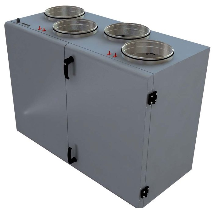 Вентиляционная установка Lessar LV-PACU 1900 VER-V4
