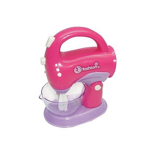 Купить Миксер Рыжий кот Маленькая кухня-3 И-7132 розовый, Детские кухни и бытовая техника