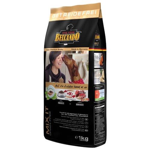 Корм для собак Belcando Mix it GF для собак склонных к аллергии для всех пород на основе амаранта (1 кг)Корма для собак<br>