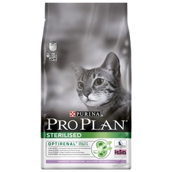 Корм для кошек Purina Pro Plan (3 кг) Sterilised feline rich in Turkey dry