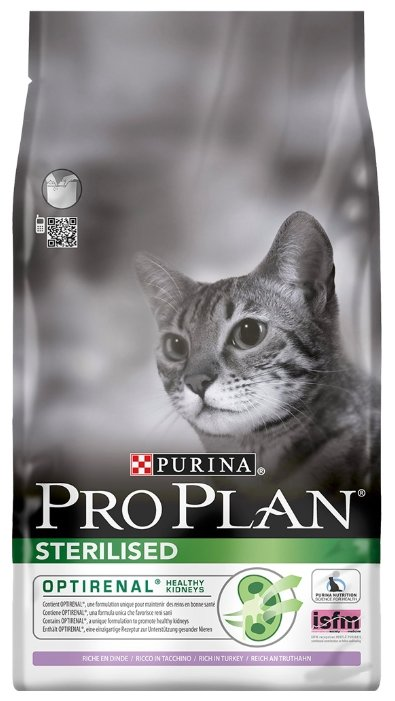 Purina Pro Plan (3 кг) Sterilised feline rich in Turkey dry