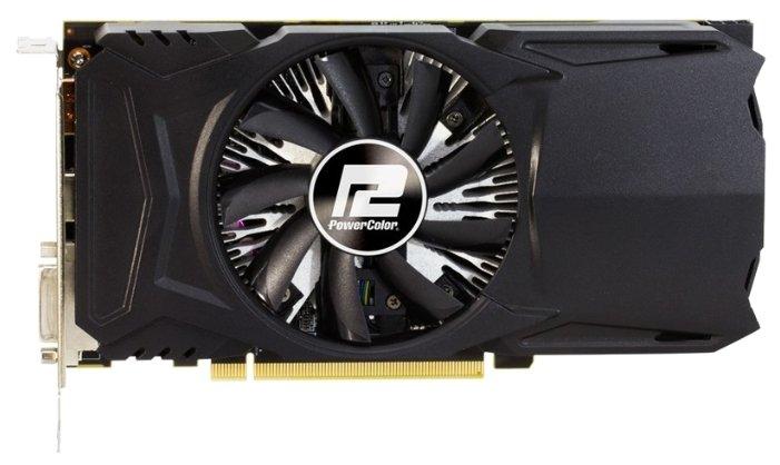 PowerColor Radeon RX 460 1212Mhz PCI-E 3.0 2048Mb 7000Mhz 128 bit DVI HDMI HDCP
