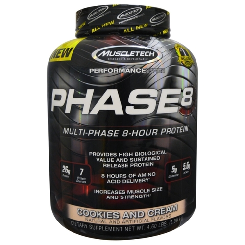 Протеин MuscleTech Phase 8 (2.1 кг)