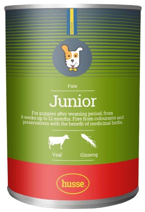 Корм для собак Husse Консервы для щенков Junior Pate