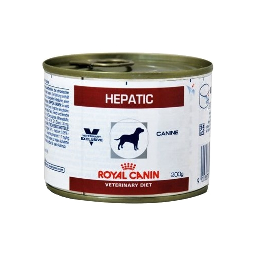 Royal Canin Hepatic сanine canned (0.2 кг) 12 шт. Лечебные корма