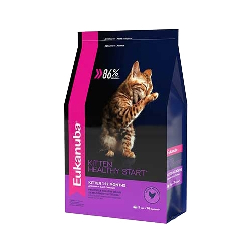 Корм для кошек Eukanuba (5 кг) Kitten Dry Cat Food Healthy Start Chicken & Liver