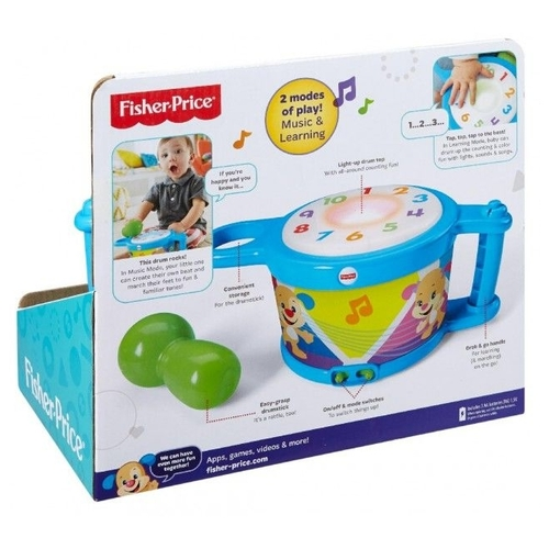 Fisher-Price барабан DRB22