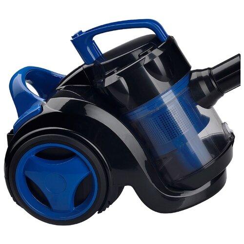 Пылесос Ginzzu VS420 черный/синий