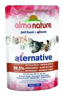 Корм для кошек Almo Nature Alternative Adult Cat Chicken Breast