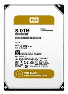 Жесткий диск Western Digital WD Gold 8 TB (WD8002FRYZ)