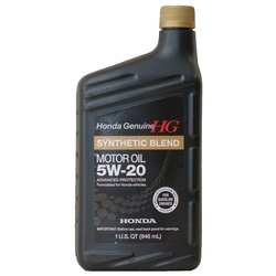 Моторное масло Honda Synthetic Blend 5W20 SN 0.946 л