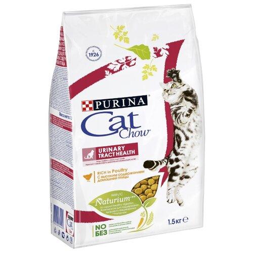 Корм для кошек CAT CHOW Urinary Tract Health с высоким содержанием домашней птицы (1.5 кг)Корма для кошек<br>