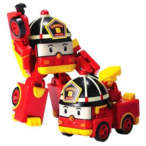 Трансформер Silverlit Robocar Poli Рой 7,5 см красный трансформер poli рой рой 83170