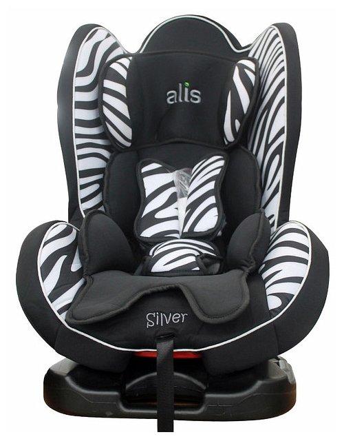 Автокресло группа 0/1/2 (до 25 кг) Alis Silver