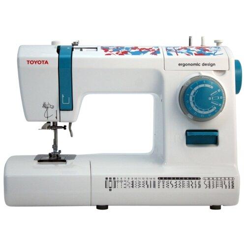 Швейная машина TOYOTA ECO34C, бело-голубой