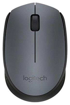 Logitech M170 Wireless Mouse Black-Grey USB