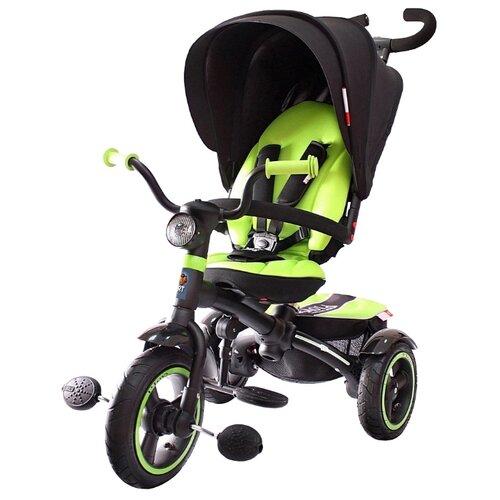 Купить Трехколесный велосипед Icon 5 Vip V5 By Natali Prigaro Green green, Трехколесные велосипеды