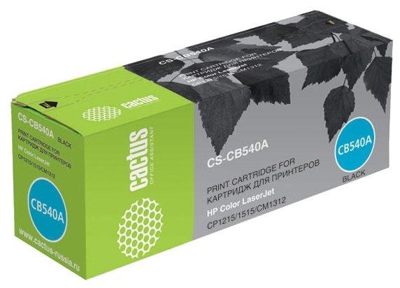 Картридж cactus CS-CB540A, совместимый — купить по выгодной цене на Яндекс.Маркете