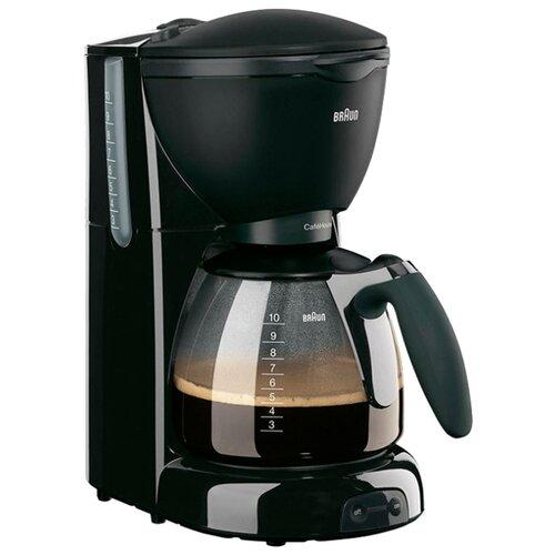Кофеварка Braun KF 560 Pure Aroma Plus черный кофеварка капельная braun kf 560 1 с фильтром brita