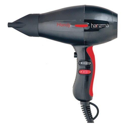 Фен harizma Handy H10214, черный/красный недорого
