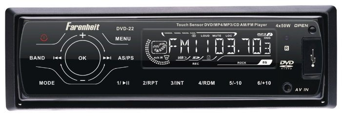 Farenheit DVD-22T
