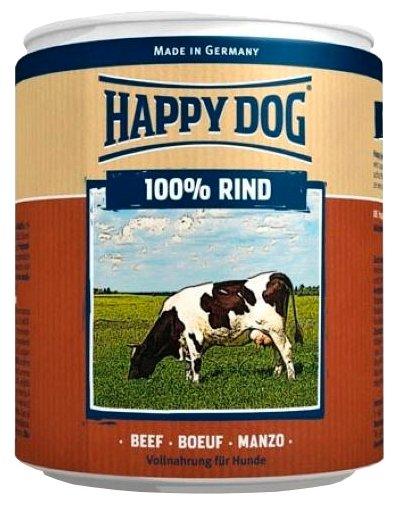 Корм для собак Happy Dog 100% Мясо Фермерский продукт говядина 6шт. х 400г