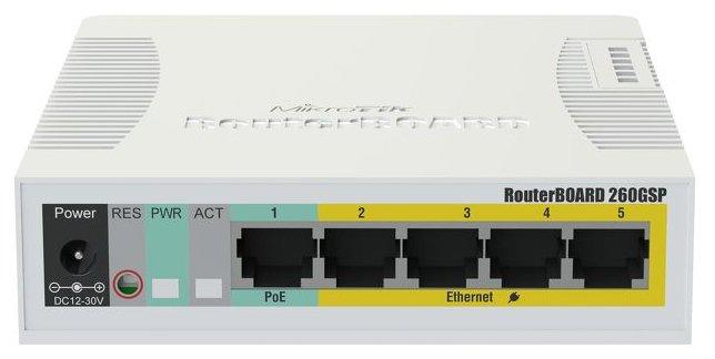 MikroTik Коммутатор MikroTik RouterBoard RB260GSP