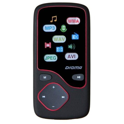 Плеер Digma Cyber 3L 4Gb черный