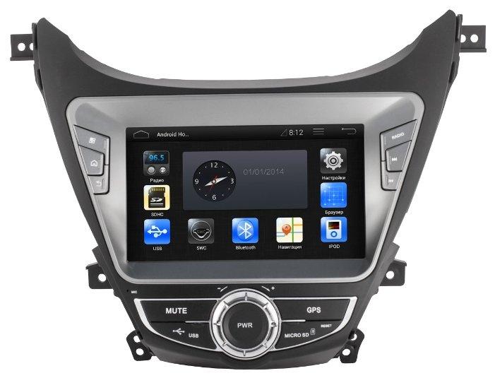 Автомагнитола CA-FI DL4801000-0018 Hyundai Elantra 2012-