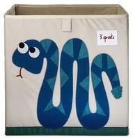 Ящик 3 Sprouts Змейка 33х33х33 см (SPR409) синий