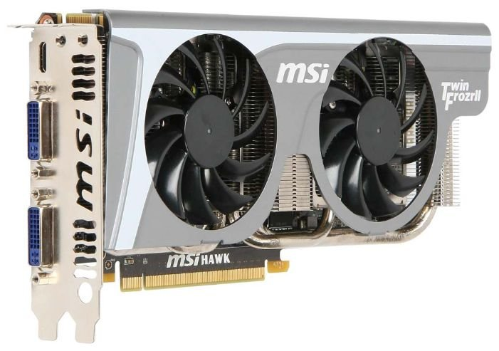 MSI GeForce GTX 460 810Mhz PCI-E 2.0 1024Mb 3900Mhz 256 bit 2xDVI Mini-HDMI HDCP
